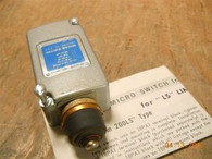 Microswitch (202LS111) Limit Switch, New Surplus in Original Box