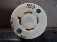 Bryant (71420-NC) L14-20R Cord Connector, New Surplus