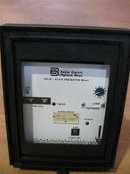 Basler Electric Solid STate Protective Relay (BE1-51) K1E-B40AONOF, USED