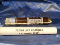 S&C (122050) SM Fuse Refill Unit, Type 4, Volts 15000, Amps 30E, New Surplus