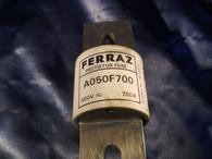 Ferraz (A050F700) Protistor Fuse, 500V 700A Protistor Fuse, New Surplus