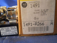 Allen Bradley (1491-R266) Series A, Fuse Block 31-60 amp, New Surplus