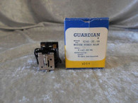 Guardian 1240-2C-6A Medium Power Relay, Coil 6 VAC-60 Hz, New Surplus
