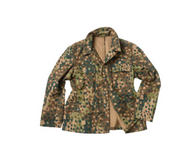 German Repro WWII M44 Pea Camo Field Jacket