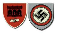 SA Feldherrnhalle  German Helmet Decal