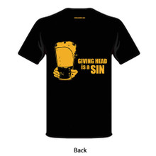 T-Shirt (Giving Head is A Sin)