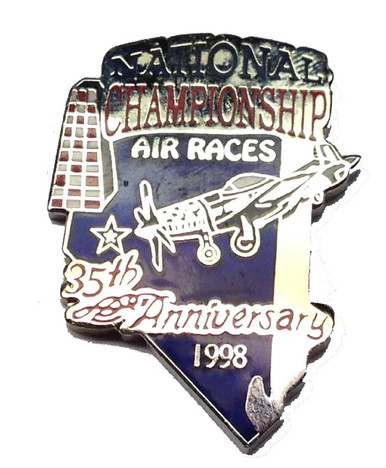 1998 Official 35th Anniversary Pin