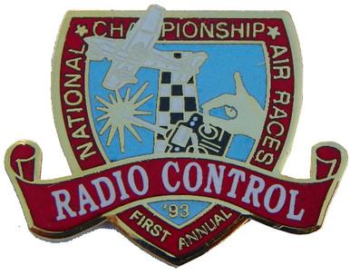 1993 Radio Control NCAR Pin