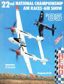 1985 Official Program