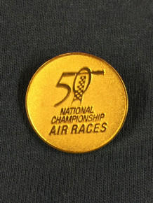 50th Anniversary Gold Pin