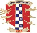 2008 Official 45th Anniversary Pin