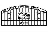 Double Arch Dizzy Rooster Gate