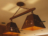 Double Bell Ceiling Mount