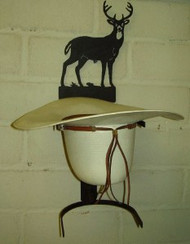 Bucking Bronco Hat Rack