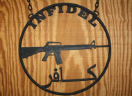 Infidel AR Sign