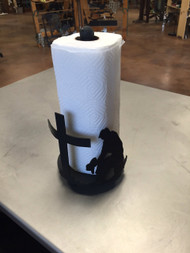 Praying Cowboy Paper Towel Holder