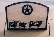 Longhorn Steer Free Standing