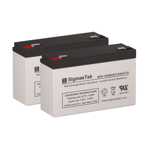 Deltec Prk600 Battery Set Replacement Battery Store
