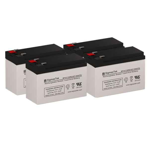 eaton powerware pw5125 1500 rm battery set. Black Bedroom Furniture Sets. Home Design Ideas
