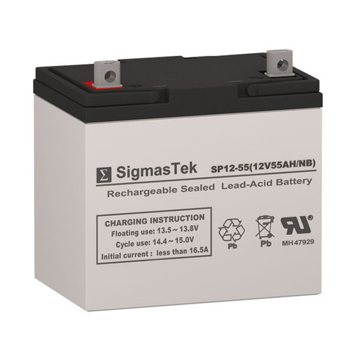 Lithonia Lighting Emergency Light Battery: Lithonia ELB1255 Replacement Battery