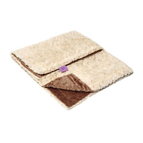 Lux Brown Blanket