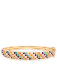 Lily Nily Mosaic Bangle Multi-Colored
