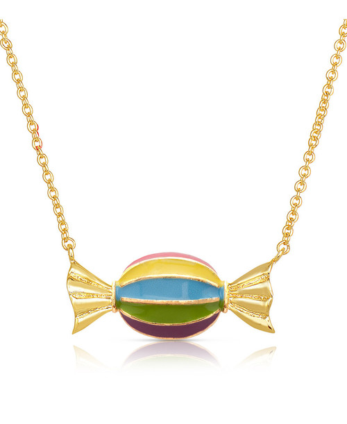 Lily Nily Candy Stripes Necklace