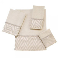 Avanti Interlace Ivory Towels