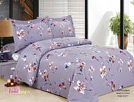 French Magnolia Lavender Linen Set