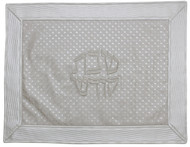 Majestic Collection Vinyl Challah Cover - White