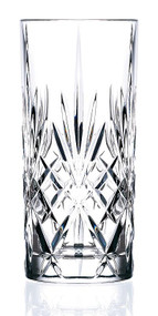 Lorenzo Melodia Crystal Highball Glass Set