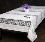 European Pinnacle Organza Tablecloth