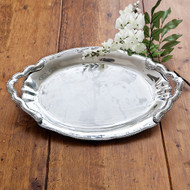 Beatriz Ball Denisse Oval Tray with Handles