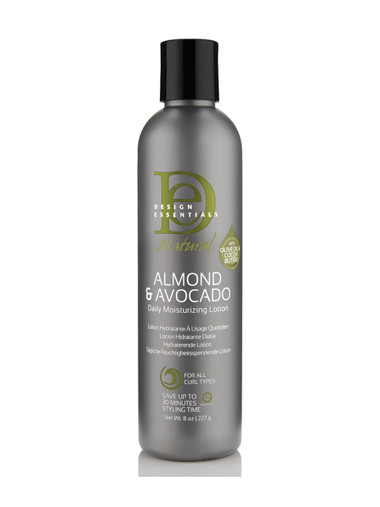 Almond & Avocado Daily Moisturizing Lotion 8oz