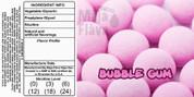 Pink gum ball flavor!