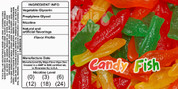 Candy Gummy Taste. Although this taste like a fishy candy do not mistake this for a treat. This is an adult only pleasure .
