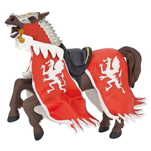 Dragon King Horse Red