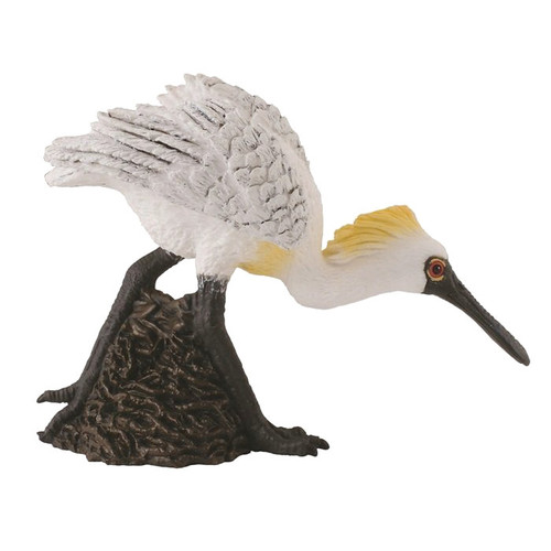 Black Faced Spoonbill Walking CollectA