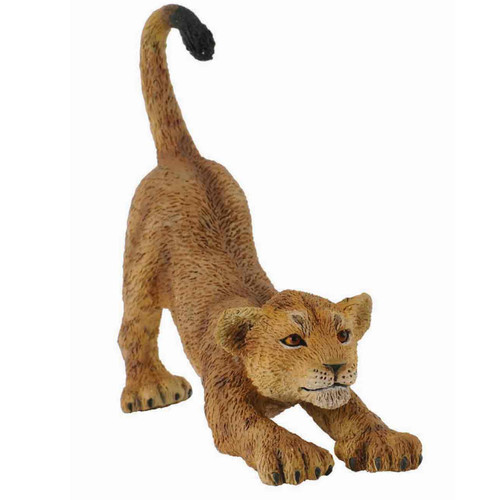 African Lion Cub Stretching CollectA