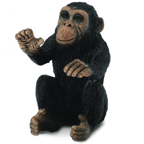 Chimpanzee Cub Hugging CollectA