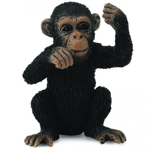 Chimpanzee Cub Thinking CollectA