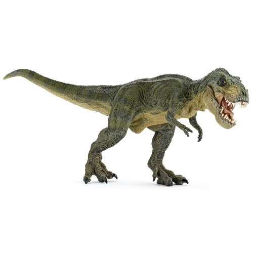 T-Rex Green Running Papo
