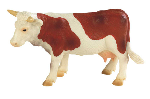 Brown and White Cow Fanny
