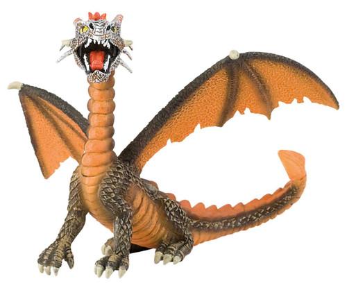 Dragon sitting Orange