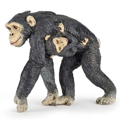 Chimpanzee and Baby