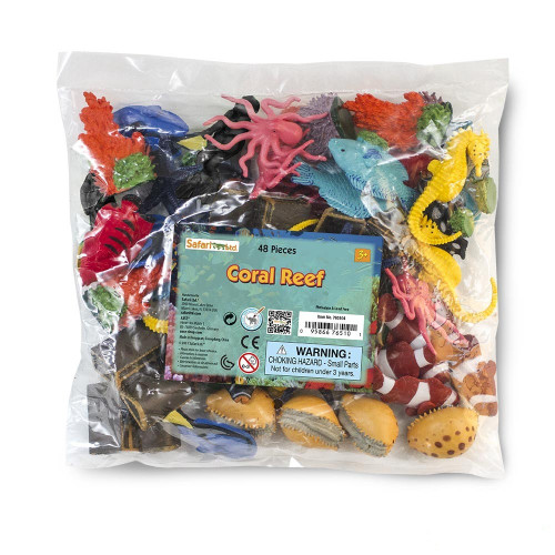 Coral Reef Bulk Bag 48pc