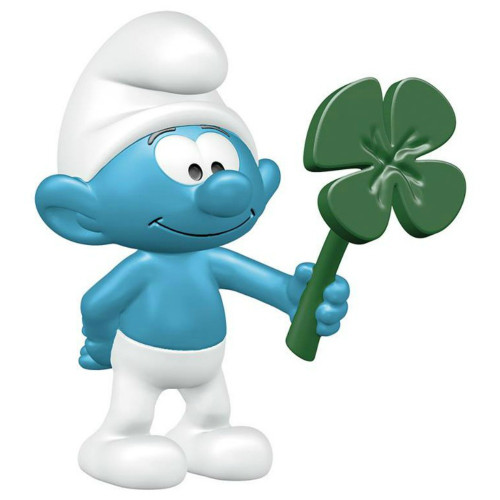 Smurf with Shamrock