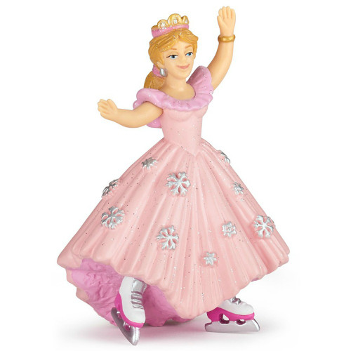 Princess with Ice Skates Pink