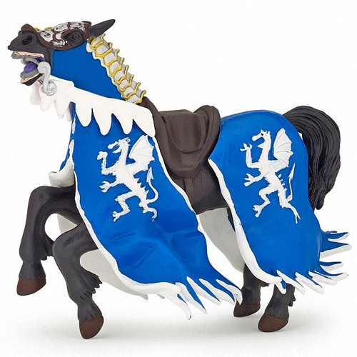 Dragon King Horse Blue