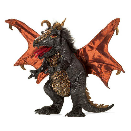 Black Dragon Puppet